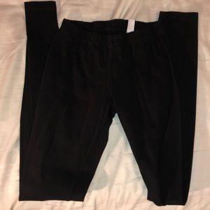 Black Cotton Leggings size small